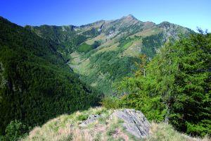 La Valle del Basso, in cui si snoda il sentiero natura del Parco Nazionale della Val Grande